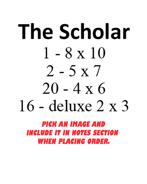 THE SCHOLAR PACKAGE