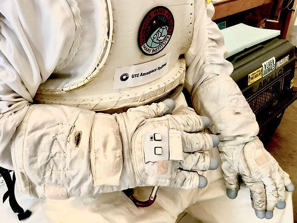 Astronaut Smart Glove closeup