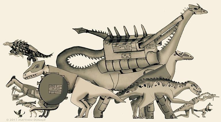 Matthew Donald Creator | Megazoic Dinosaurs – Characters