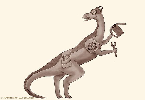 Matthew Donald Creator   Megazoic Dinosaurs – Ostrol