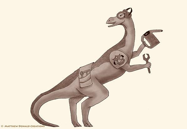 Matthew Donald Creator | Megazoic Dinosaurs – Ostrol