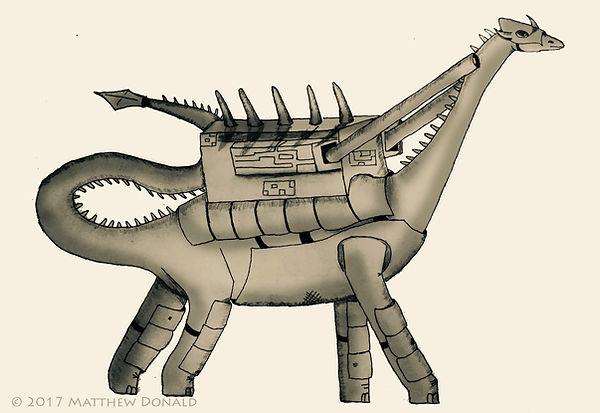 Matthew Donald Creator | Megazoic Dinosaurs – The Laurasian Empire