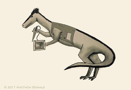 Matthew Donald Creator | Megazoic Dinosaurs - Kortan, Sinraptor