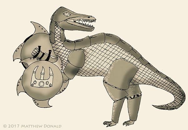 Matthew Donald Creator | Megazoic Dinosaurs – The Tyranneon Kingdom