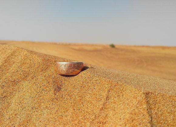East Africa-Desert Coin Ring