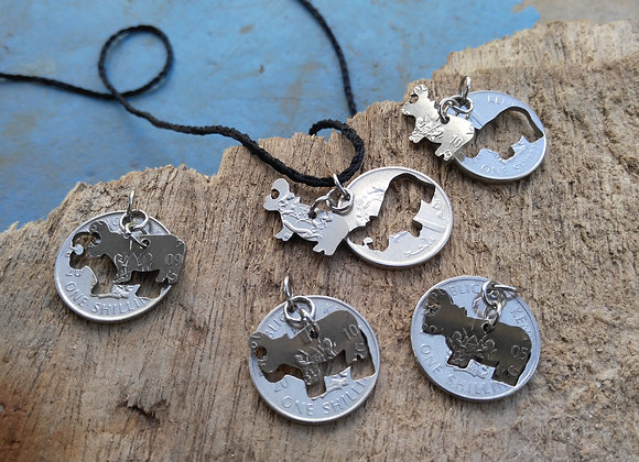 Hippos dangling - A Bundle of 5 !