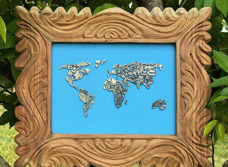 FRAME WORKS,COINS,ART AND NATURE