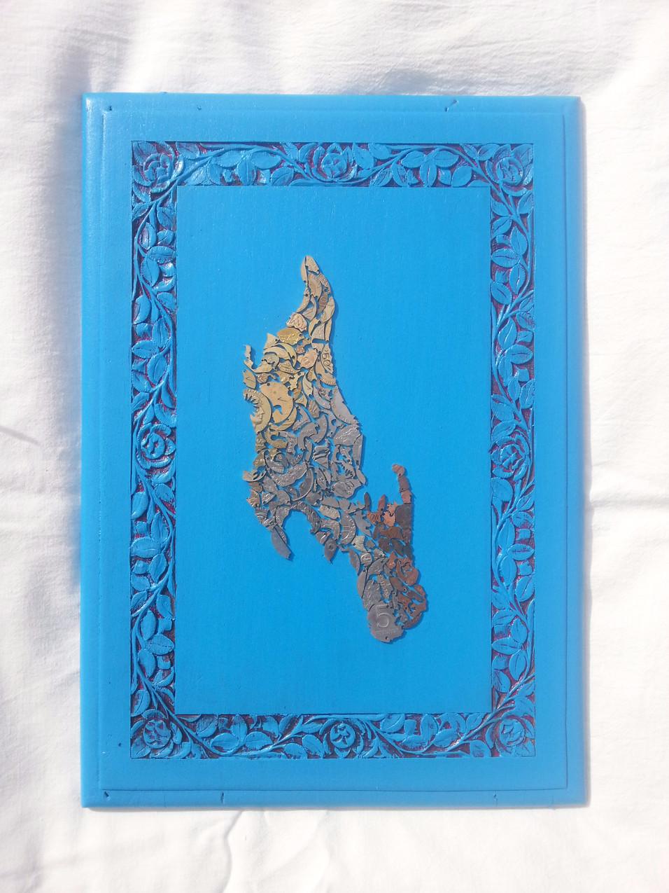 Zanzibar blue ocean