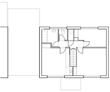 First floor plan as existing