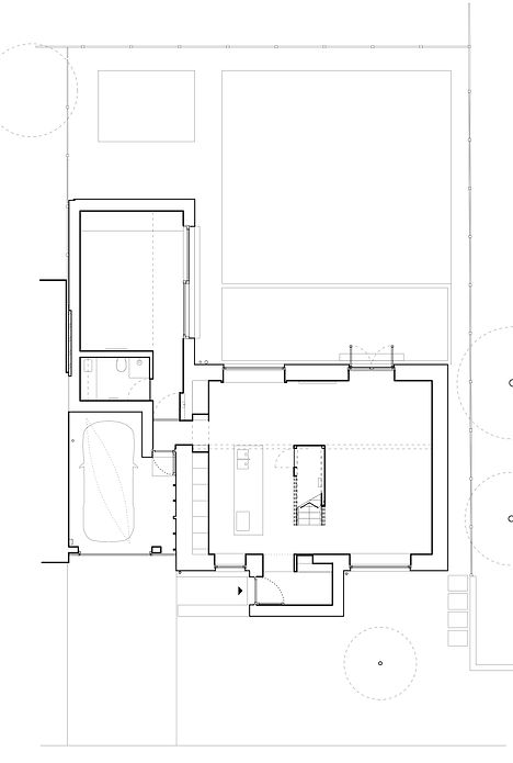 Ground floor plan as built
