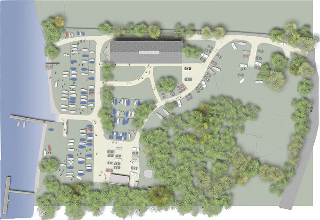 Site plan as proposed