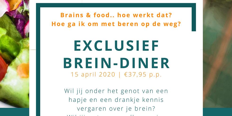 Exclusief! Brein-diner