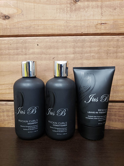 Jus B Curls Package (3 Products)