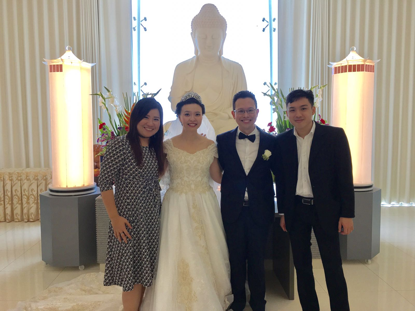 Jack and Ming Yen's Wedding Lunch