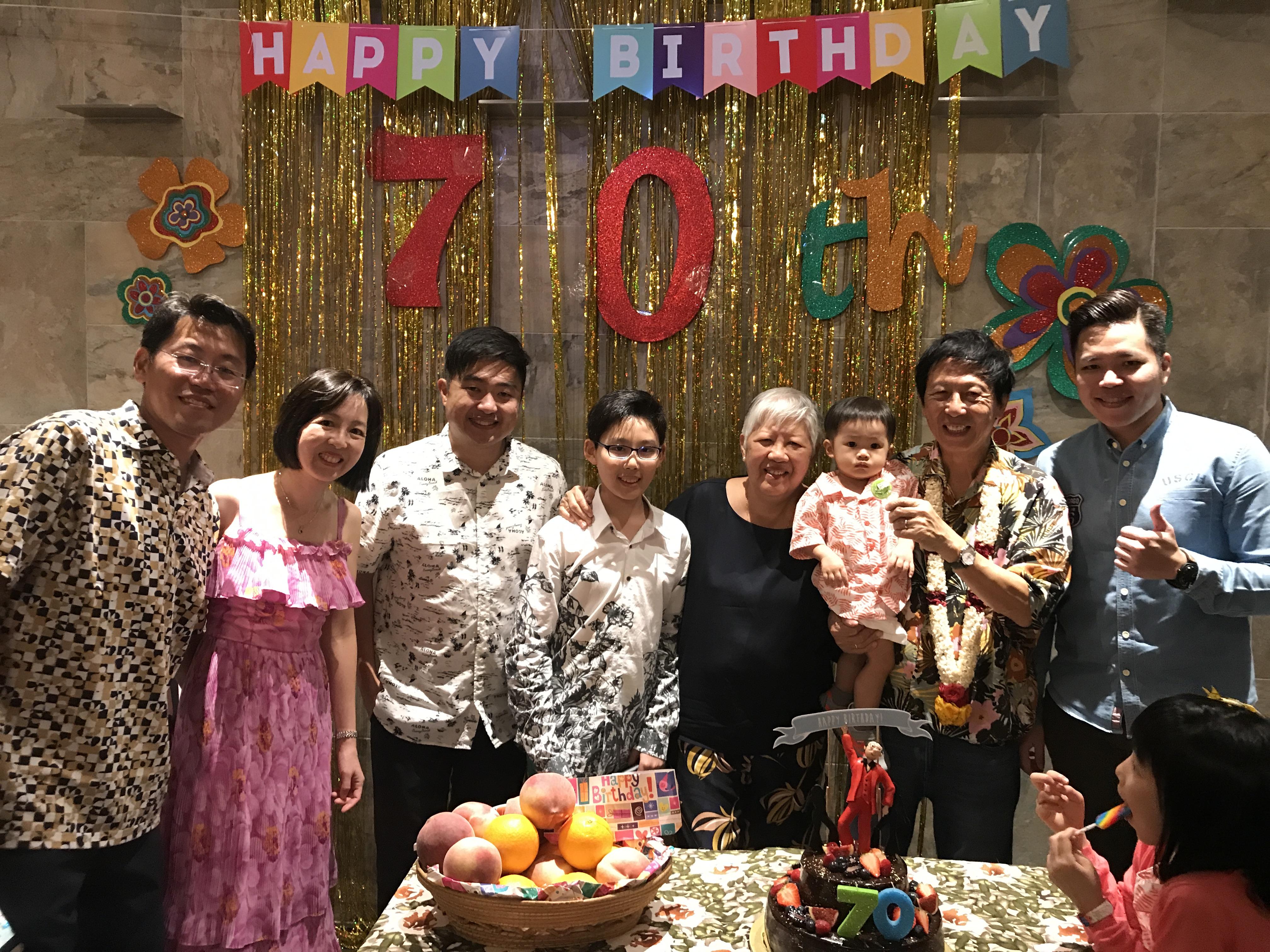 Johny's 70th Birthday Celebration