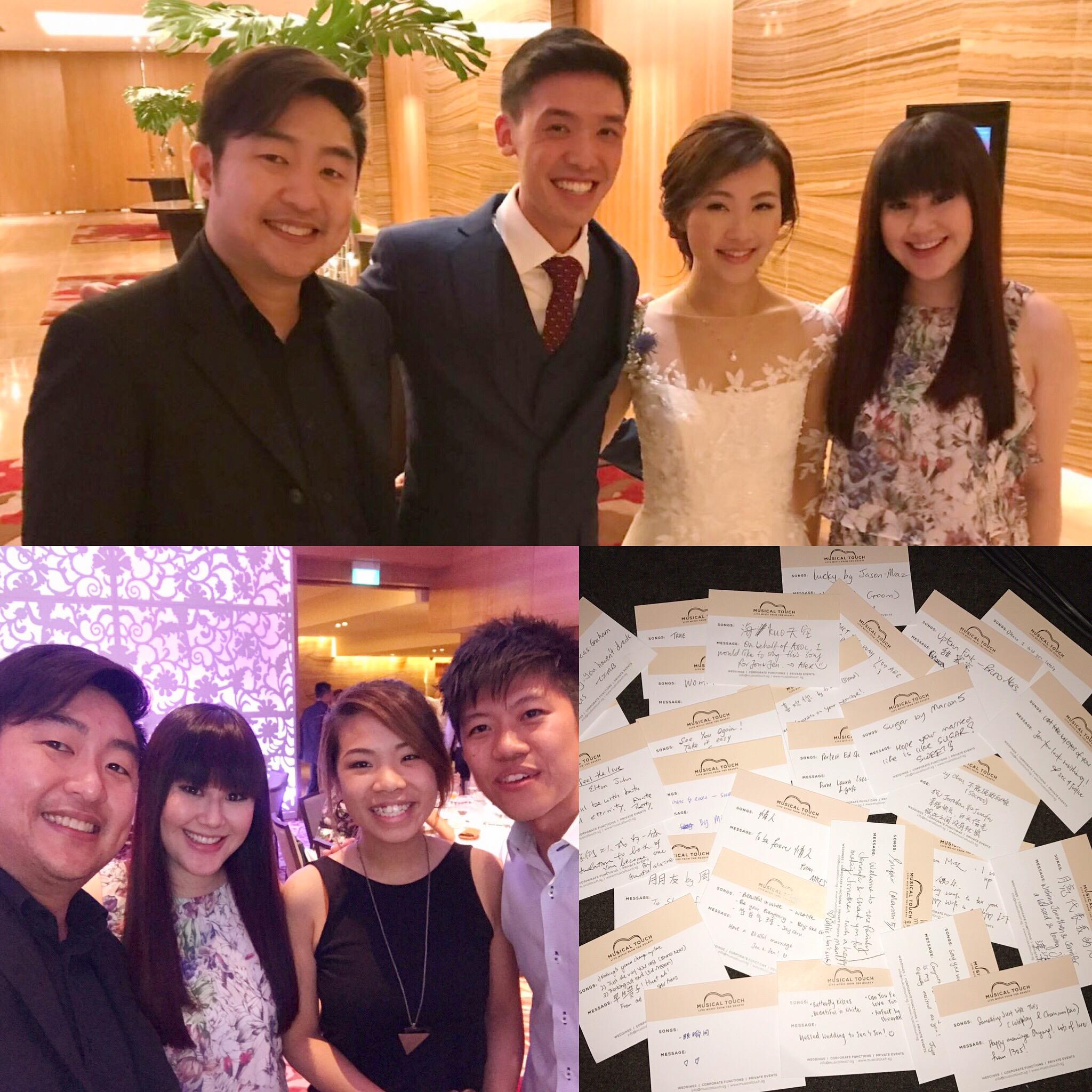 Jonathan and Jennifer's Wedding Lunc
