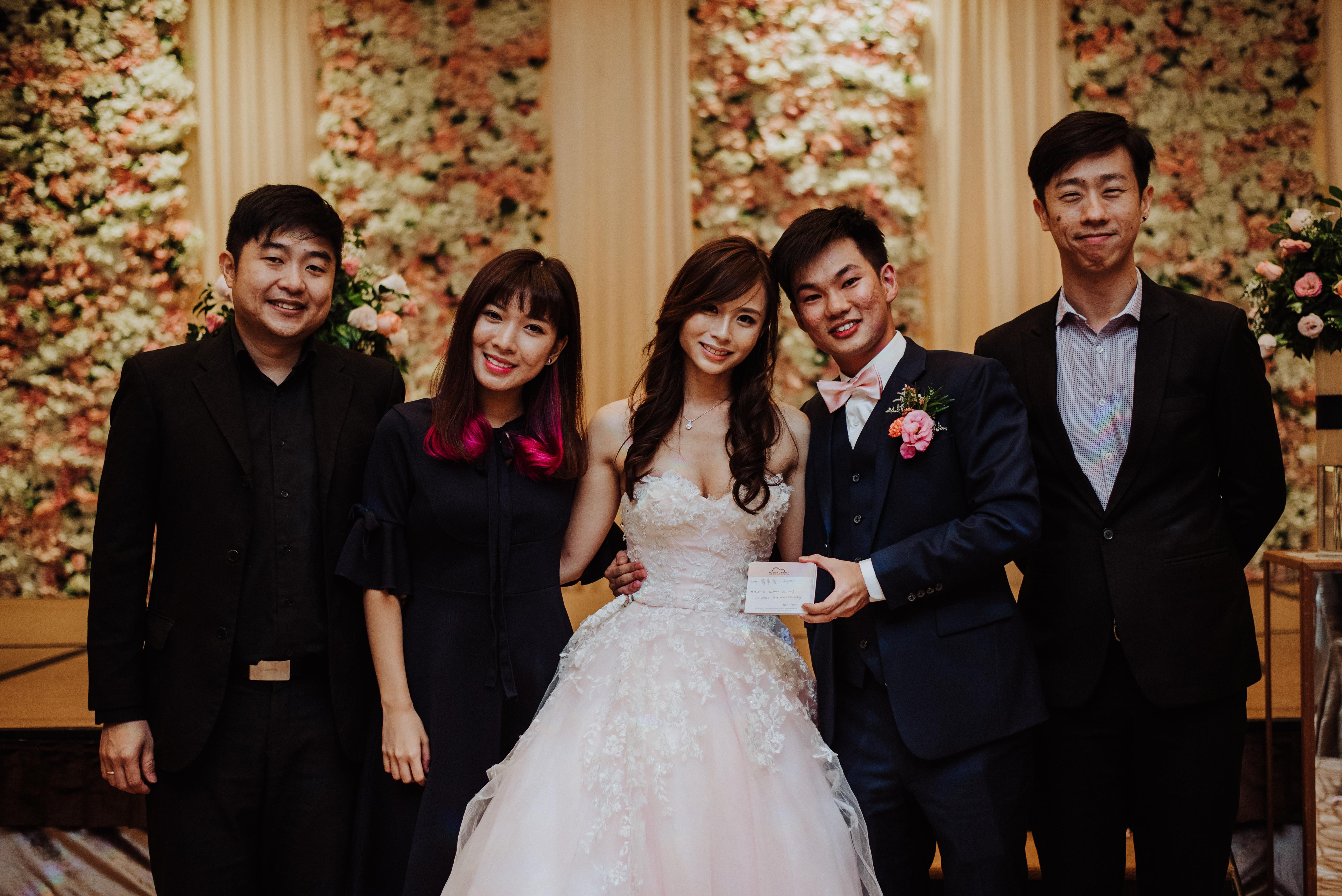 YeeSheng and XueFen's Wedding Lunch