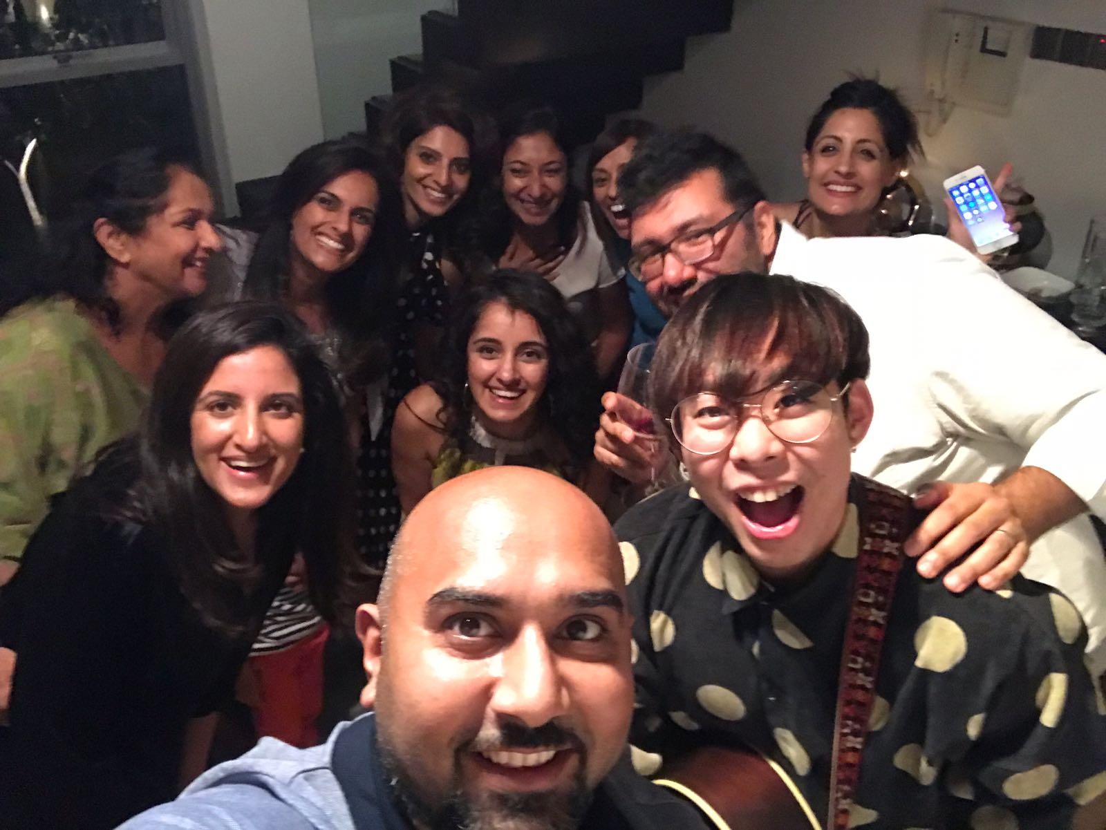 Amit's Wife's Birthday Party
