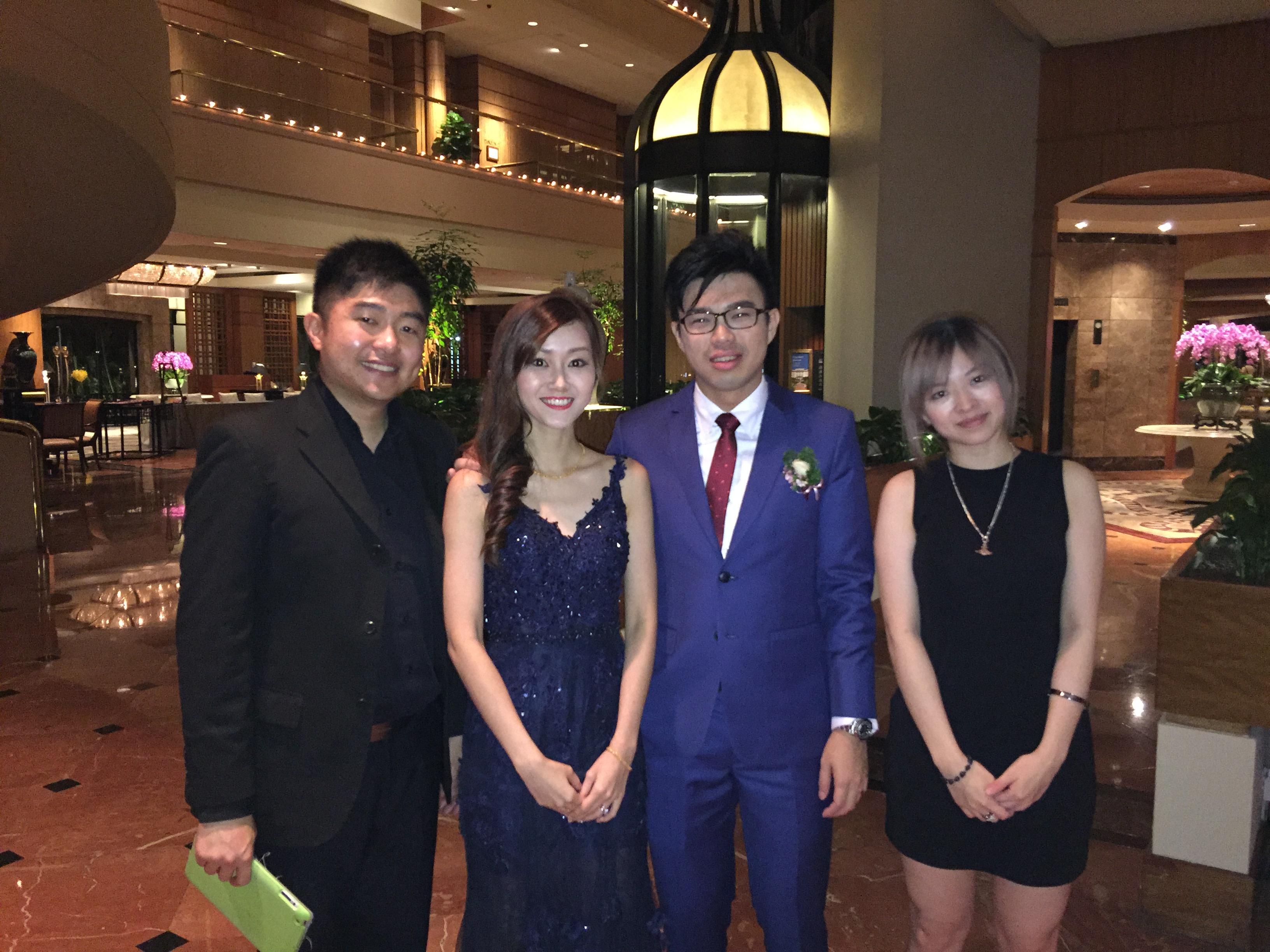 Ying Wen and Raymond