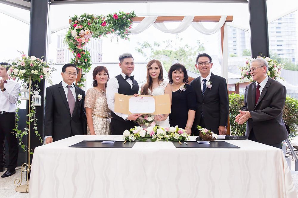 Wedding Solemnization in Singapore