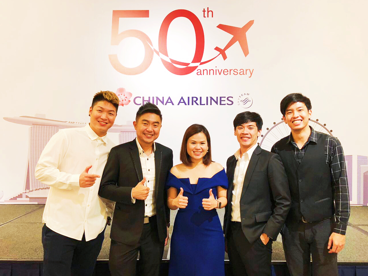 China Airlines' 50th Anniversary