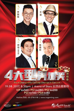 [Genting] The 4 Charismatic Comedy Champs in Concert