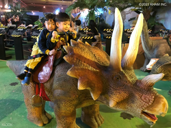 Come and ride the dinosaurs!