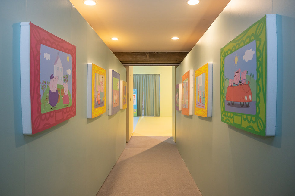 Corridor to Peppa's living room.jpg