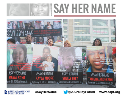 JOIN US MARKING THE 4TH ANNIVERSARY OF #SAYHERNAME