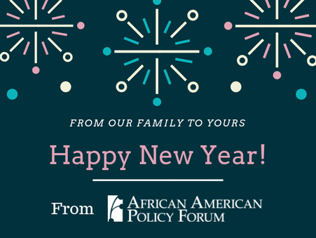 HAPPY NEW YEAR FROM AAPF!