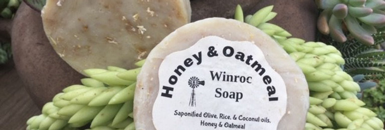 Honey & Oatmeal exfoliating soap - No added fragrance