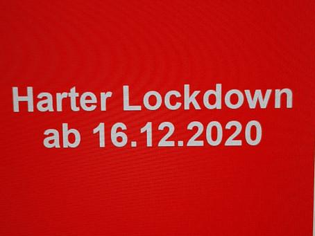 Angekündigte Maßnahmen ab 16.12.2020