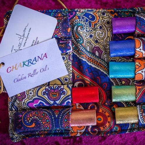 CHAKRANA ~ Chakra Roller Oils