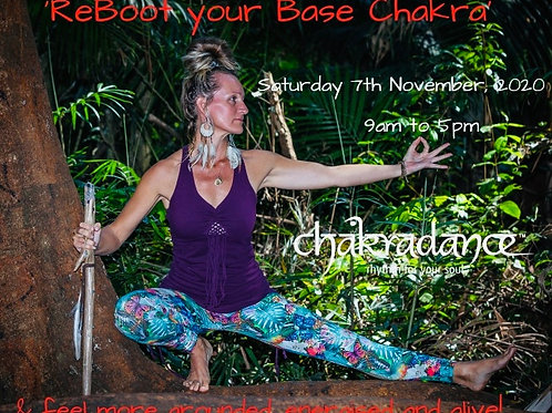 ReBoot your Base Chakra -  FULL DAY Workshop