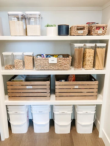 Reset Your Nest Pantry Organization and Bins