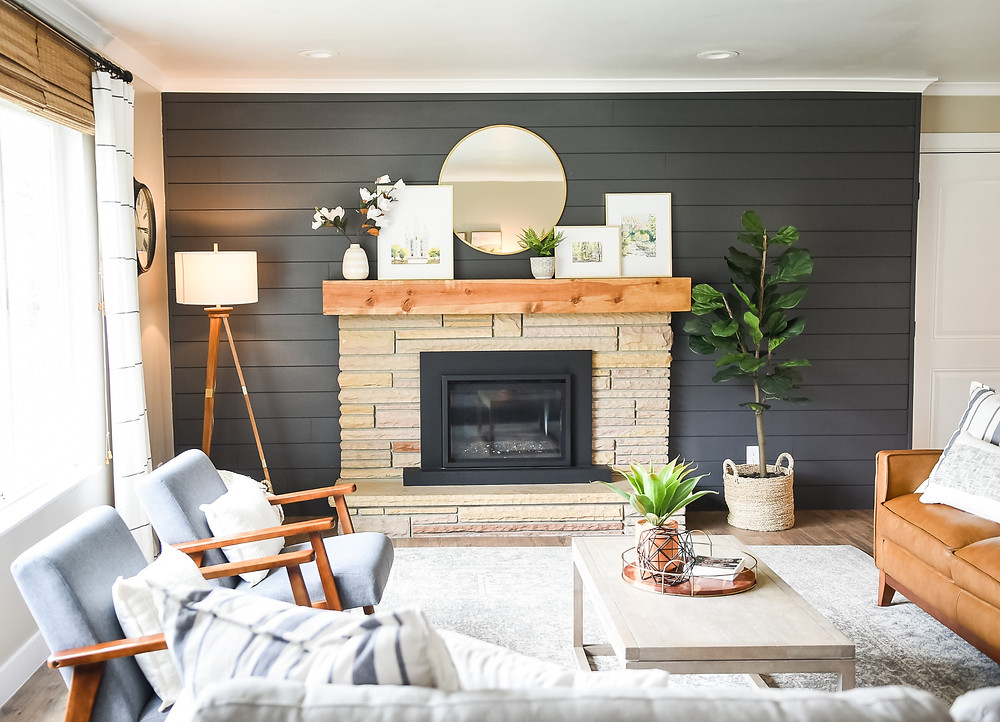 Reset Your Nest blog - styled living room in home