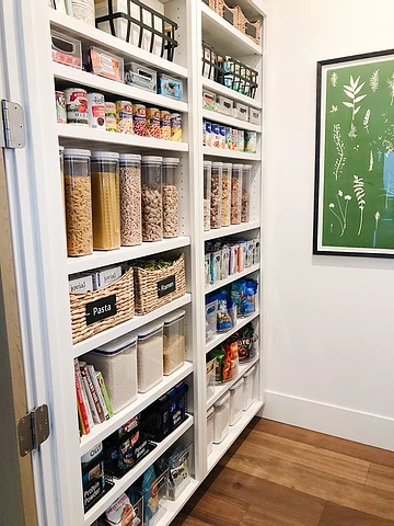 Reset Your Nest Blog Pantry Organization