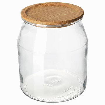 Organizer Gift Guide IKEA glass container