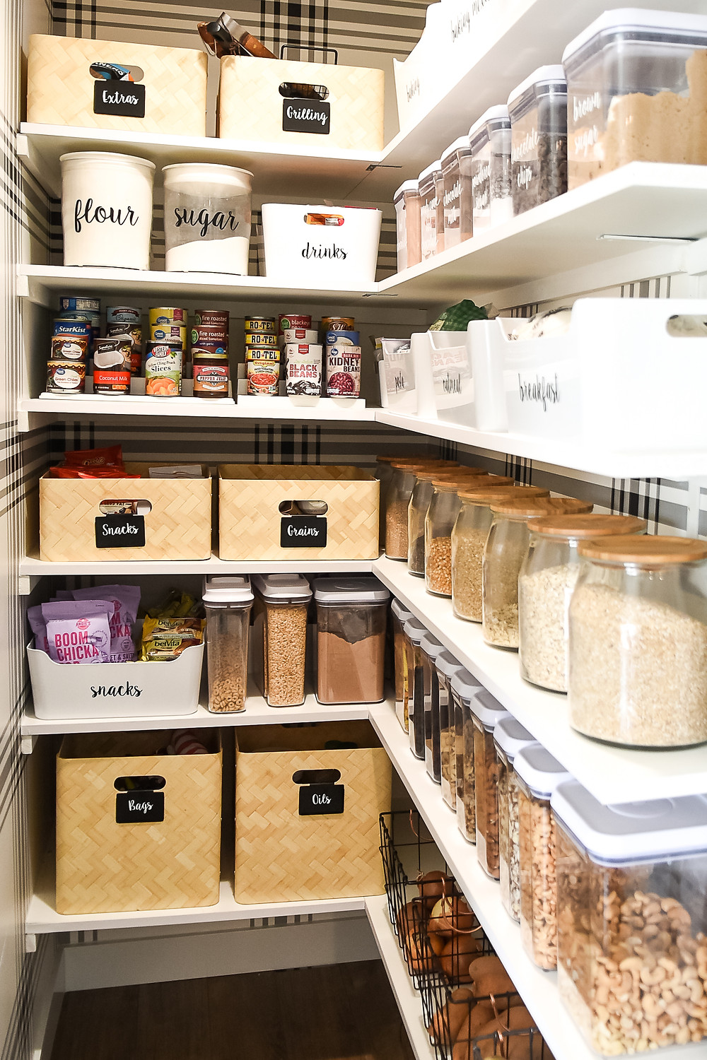 Reset Your Nest Blog Organized Pantry
