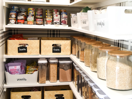 5 No-fail Tips to a Pinterest-worthy Pantry