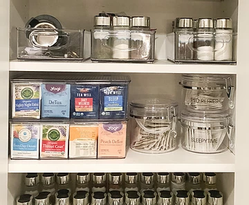 Reset Your Nest Organizer Gift Guide Tea Organizer