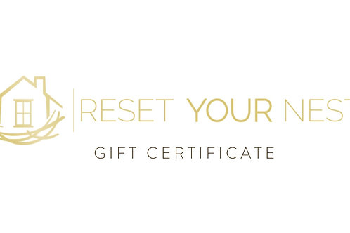Reset Your Nest Gift Card