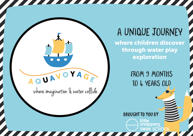PRESENTING AQUAVOYAGE - where imagination & water collide