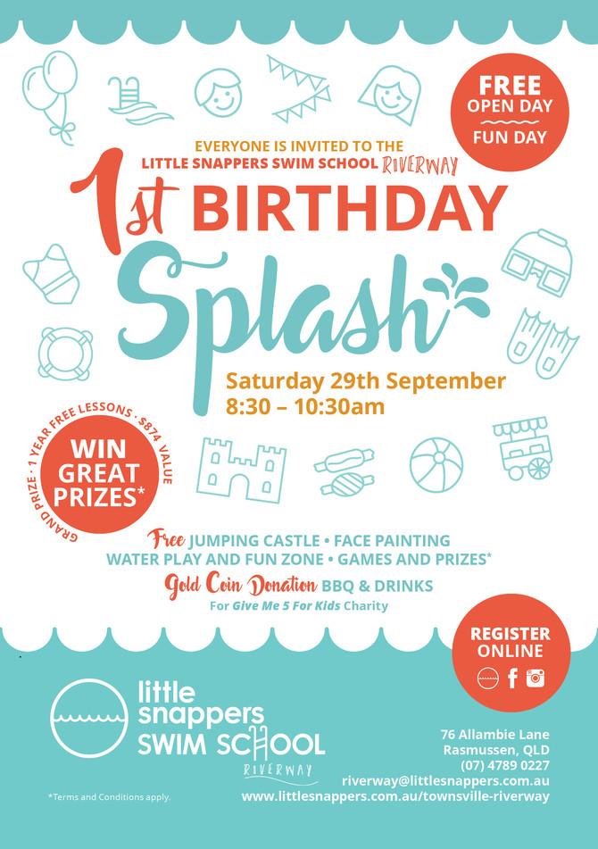 You're Invited! Riverway celebrates 1st Birthday!