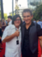 Buddy Goode & Ian Moss 2015 ARIA Awards Red Caroet