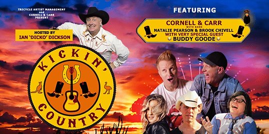 Kickin' Country Old Bundy Tavern, Buddy Goode, Cornell & Carr, Nat Pearson, Brooke Chivell