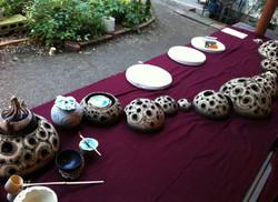2012 「ひと皿の可能性」にて茶会