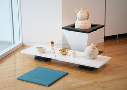 2011「folding cosmos 札幌編」モエレ沼公園ガラスのピラミッドにて