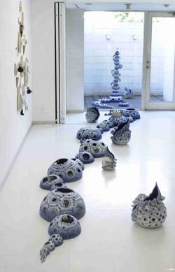 2006「自給∞足」展示風景、陶