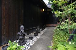 2020.9.16-27.早苗饗~アートの収穫祭、懐韻の玄関photo.Y